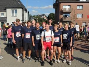 Insgesamt zwölf Läuferinnen und Läufer starteten für den Verein