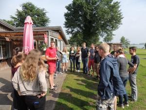 Vortrag des DLRG Bad Schwartau in der Badeanstalt