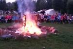 Der Abschied kommt immer näher: Letzter Abend am Lagerfeuer.