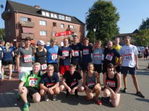 Insgesamt 16 Läufer und Läuferinnen starteten über die 5km und 10km Distanz.