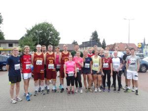 Insgesamt 20 Läufer und Läuferinnen starteten für den CVJM Schneverdingen